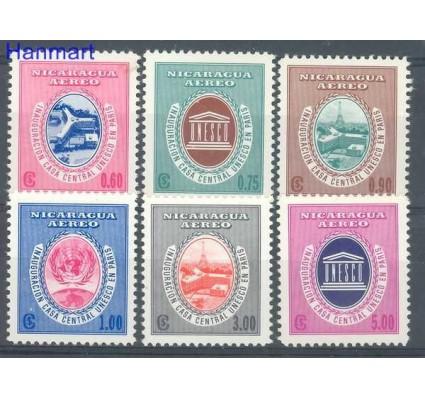 Znaczek Nikaragua 1958 Mi 1214-1219 Czyste **