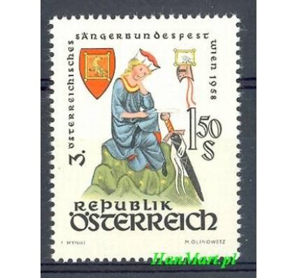 Znaczek Austria 1958 Mi 1043 Czyste **