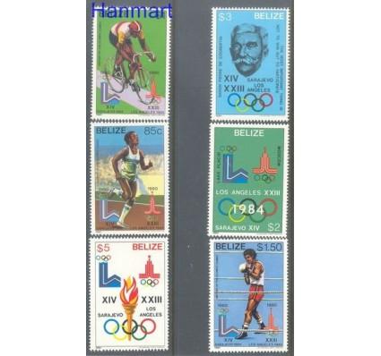 Znaczek Belize 1981 Mi 563-568 Czyste **