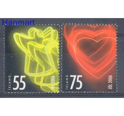 Znaczek Islandia 2006 Mi 1146-1147 Czyste **