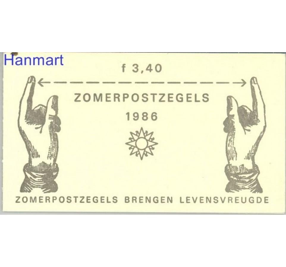 Holandia 1986 Mi mh 33 Czyste **