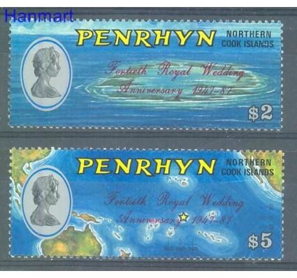 Znaczek Penrhyn 1987 Mi 474-475 Czyste **
