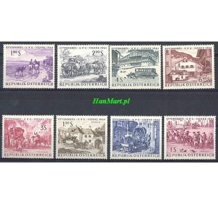 Znaczek Austria 1964 Mi 1156-1163 Czyste **
