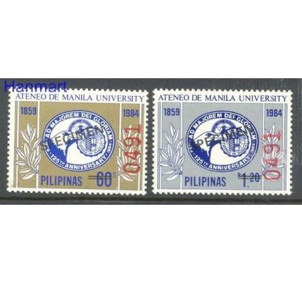 Znaczek Filipiny 1984 Mi 1635-1636 Czyste **