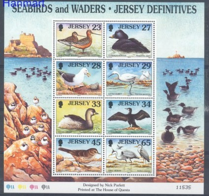 Znaczek Jersey 1999 Mi bl 23 Czyste **