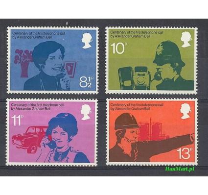 Wielka Brytania 1976 Mi 702-705 Czyste **