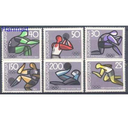 Znaczek Jugosławia 1964 Mi 1076-1081 Czyste **