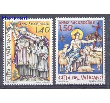 Znaczek Watykan 2010 Mi 1671-1672 Czyste **