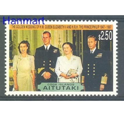 Aitutaki 1997 Mi 751 Czyste **