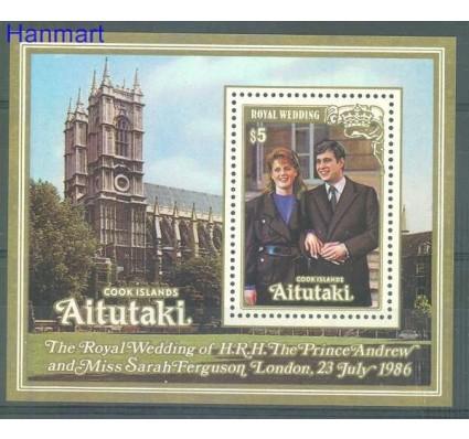 Znaczek Aitutaki 1986 Mi bl 63 Czyste **