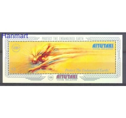 Znaczek Aitutaki 1989 Mi bl 75 Czyste **
