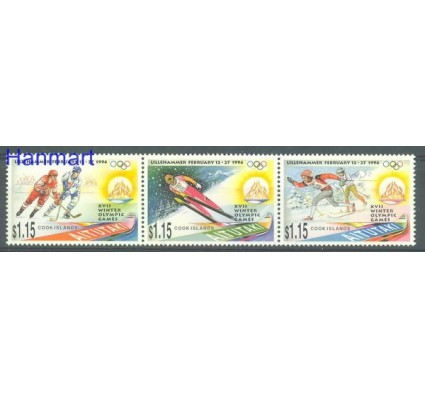 Znaczek Aitutaki 1994 Mi 713-715 Czyste **