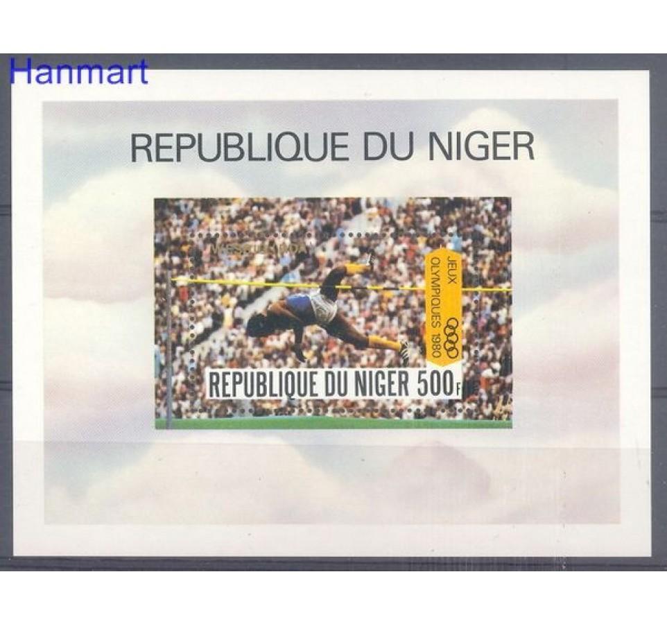 Niger 1980 Mi bl 30 Czyste **