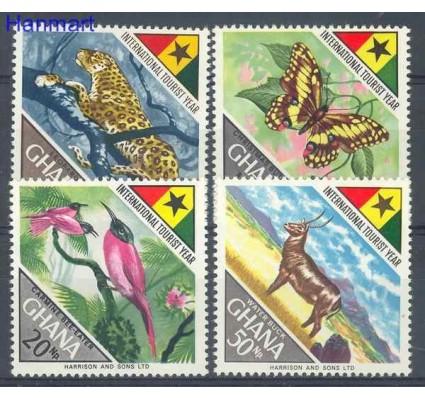 Znaczek Ghana 1967 Mi 326-329 Czyste **