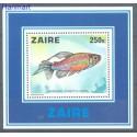 Kongo Kinszasa / Zair 1978 Mi bl 17 Czyste **