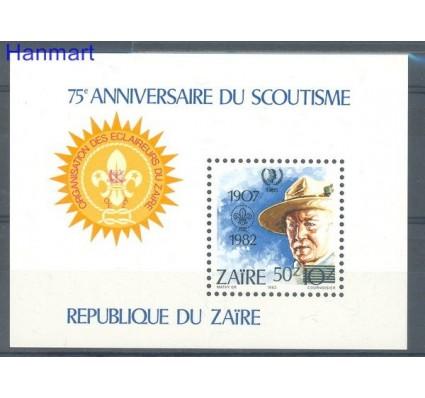 Znaczek Kongo Kinszasa / Zair 1985 Mi bl 54 Czyste **