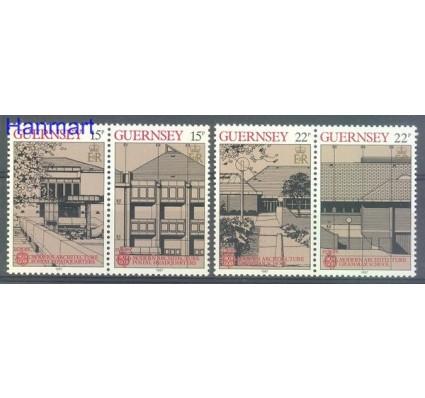 Znaczek Guernsey 1987 Mi 389-392 Czyste **