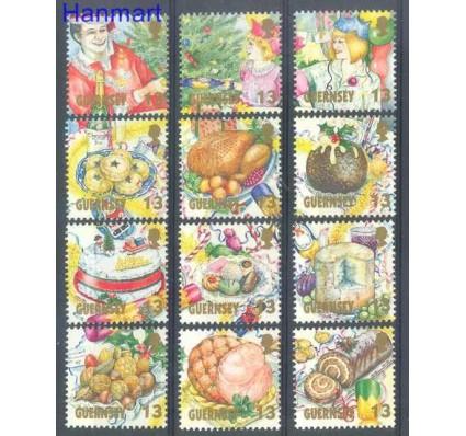 Znaczek Guernsey 1992 Mi 578-589 Czyste **