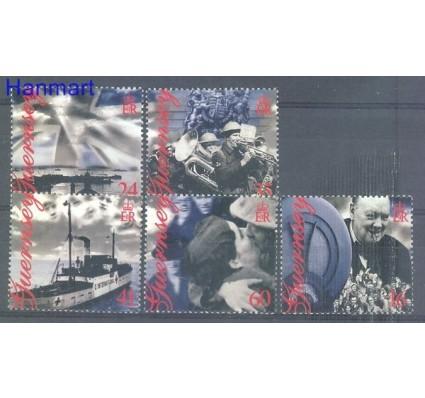Znaczek Guernsey 1995 Mi 672-676I Czyste **