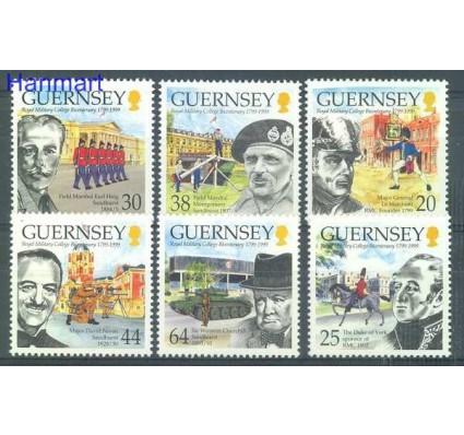 Znaczek Guernsey 1999 Mi 813-818 Czyste **