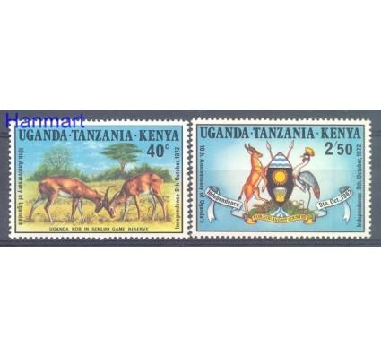 Znaczek Uganda Tanzania Kenia 1972 Mi 245 Czyste **