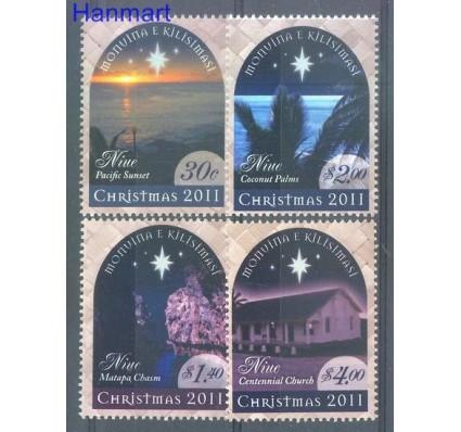 Znaczek Niue 2011 Mi 1188-1191 Czyste **
