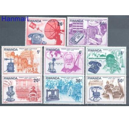Znaczek Rwanda 1976 Mi 807-814 Czyste **