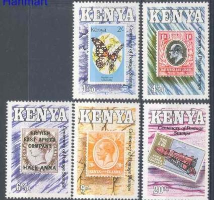 Kenia 1990 Mi 527-531 Czyste **