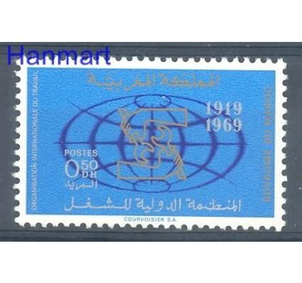 Znaczek Maroko 1969 Mi 659 Czyste **