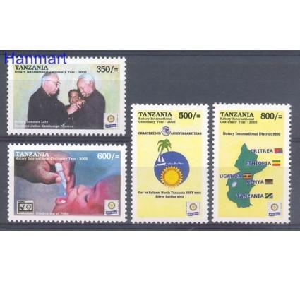 Znaczek Tanzania 2005 Mi 4217-4220 Czyste **