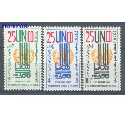 Znaczek Sudan 1972 Mi 277-279 Czyste **