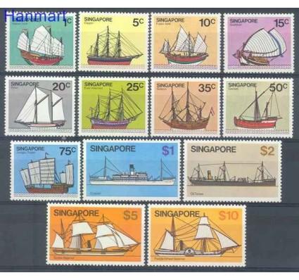 Znaczek Singapur 1980 Mi 342-354 Czyste **