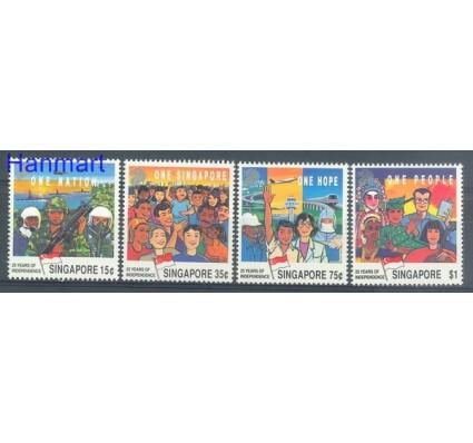 Znaczek Singapur 1990 Mi 607-610 Czyste **
