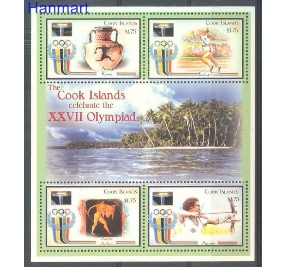 Wyspy Cooka 2000 Mi 1504-1507 Czyste **