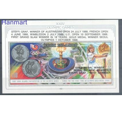 Znaczek Wyspy Cooka 1988 Mi bl 186 Czyste **