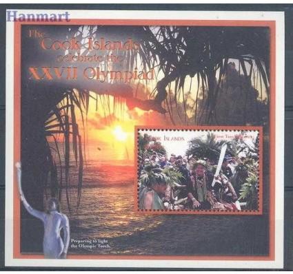 Znaczek Wyspy Cooka 2000 Mi bl 212 Czyste **