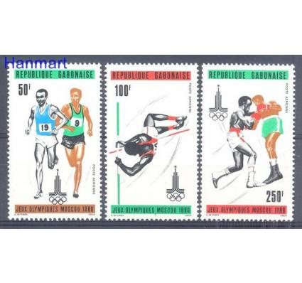 Znaczek Gabon 1980 Mi 733-735 Czyste **
