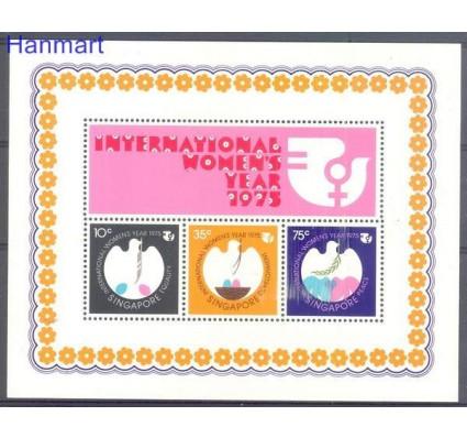 Znaczek Singapur 1975 Mi bl 7 Czyste **