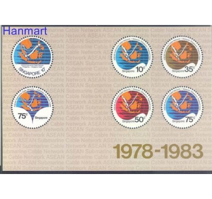 Znaczek Singapur 1983 Mi bl 16 Czyste **