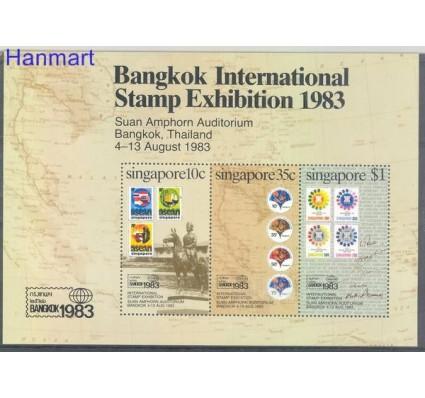 Znaczek Singapur 1983 Mi bl 15 Czyste **