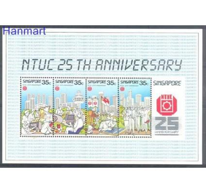 Znaczek Singapur 1986 Mi bl 19 Czyste **