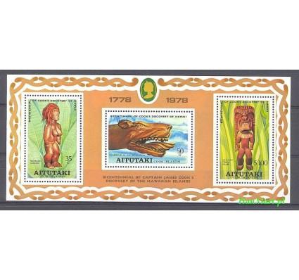 Aitutaki 1978 Mi bl 18 Czyste **