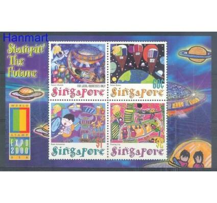 Znaczek Singapur 2000 Mi bl 76 Czyste **