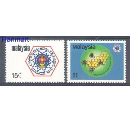 Znaczek Malezja 1978 Mi 176-177 Czyste **