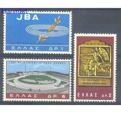 Znaczek Grecja 1965 Mi 887-889 Czyste **