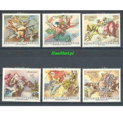 Znaczek Austria 1968 Mi 1278-1283 Czyste **