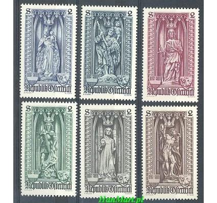 Znaczek Austria 1969 Mi 1284-1289 Czyste **