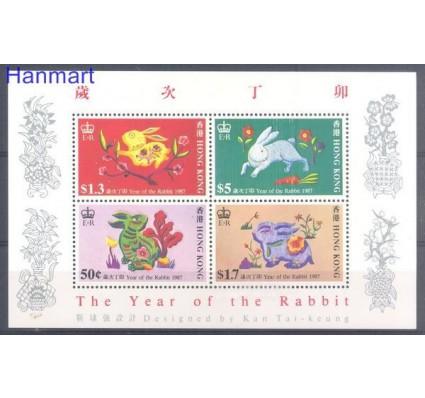 Hong Kong 1987 Mi bl 7 Czyste **