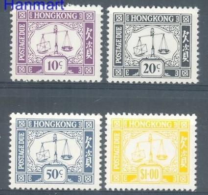 Znaczek Hong Kong 1976 Mi por 22-25 Czyste **