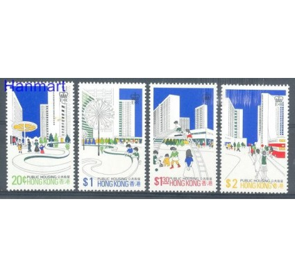 Znaczek Hong Kong 1981 Mi 376-379x Czyste **